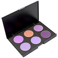 Набор теней для век 6 цветов Beauties Factory Eyeshadow Palette #05 - LONDON BRIDGE