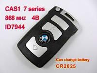 Ключ Bmw 7 smart 4 кнопки smart 868MHz CAS1 ID7944