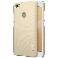Чехол Nillkin Matte для Xiaomi Redmi Note 5A Prime / Redmi Y1 (+ пленка) Золотой