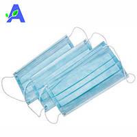 Маски голубые медицинские защитные Medicom 50 штук в упаковке