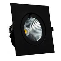 Встроенный LED светильник 30W 4000K черный 40 ° для торговых помещений VL-XP02F-30W