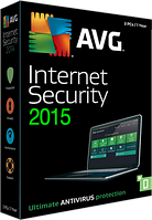 Антивирус Internet Security 2015 (1год, 3пк)AVG