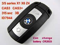 Ключ Bmw x5, x6 smart 315MHz CAS ID7944 FCC ID: KR55WK49127
