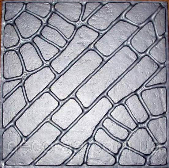 Формы для тротуарной плитки «Колодец» глянцевые пластиковые АБС ABS