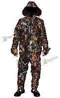 Костюм ( штаны,куртка) демисезонный, камуфлированный, рыбалка-охота, ткань 'WINDBLOCK' весна-осень