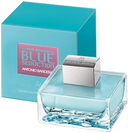 Blue Seduction Antonio Banderas Woman туалетная вода 100 ml. (Блю Седакш Вумен Антонио Бандерос)