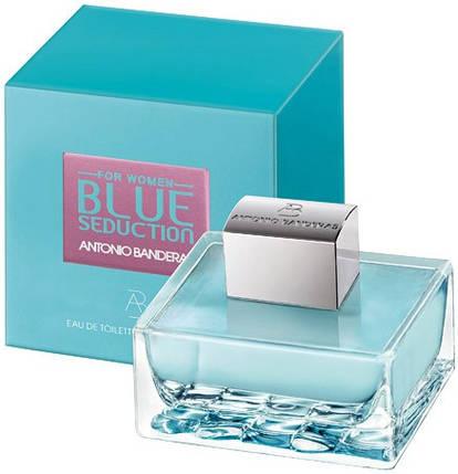 Blue Seduction Antonio Banderas Woman туалетная вода 100 ml. (Блю Седакш Вумен Антонио Бандерос), фото 2