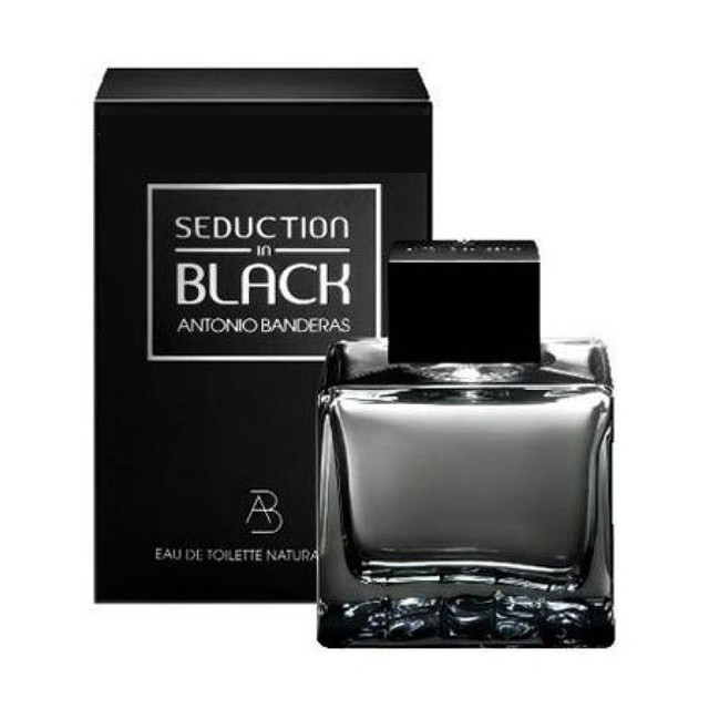 Antonio Banderas Seduction in Black туалетная вода 100 ml. (Антонио Бандерас Седакшн ин Блэк)