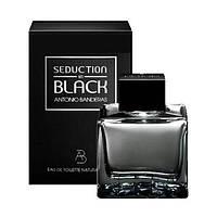 Antonio Banderas Seduction in Black туалетная вода 100 ml. (Антонио Бандерас Седакшн ин Блэк), фото 1