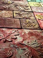 Формы для тротуарной плитки «Осень» глянцевые пластиковые АБС ABS, фото 1