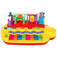 Пианино - ЗВЕРЯТА НА КАЧЕЛЯХ (свет, звук) Kiddieland от Kiddieland - preschool - под заказ Код:1651
