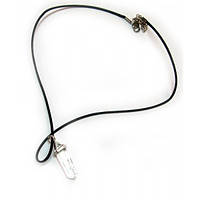 Ожерелье с кулоном из камня (Горный хрусталь)