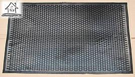 Коврик грязезащитный резиновый 72*42.5 см К002