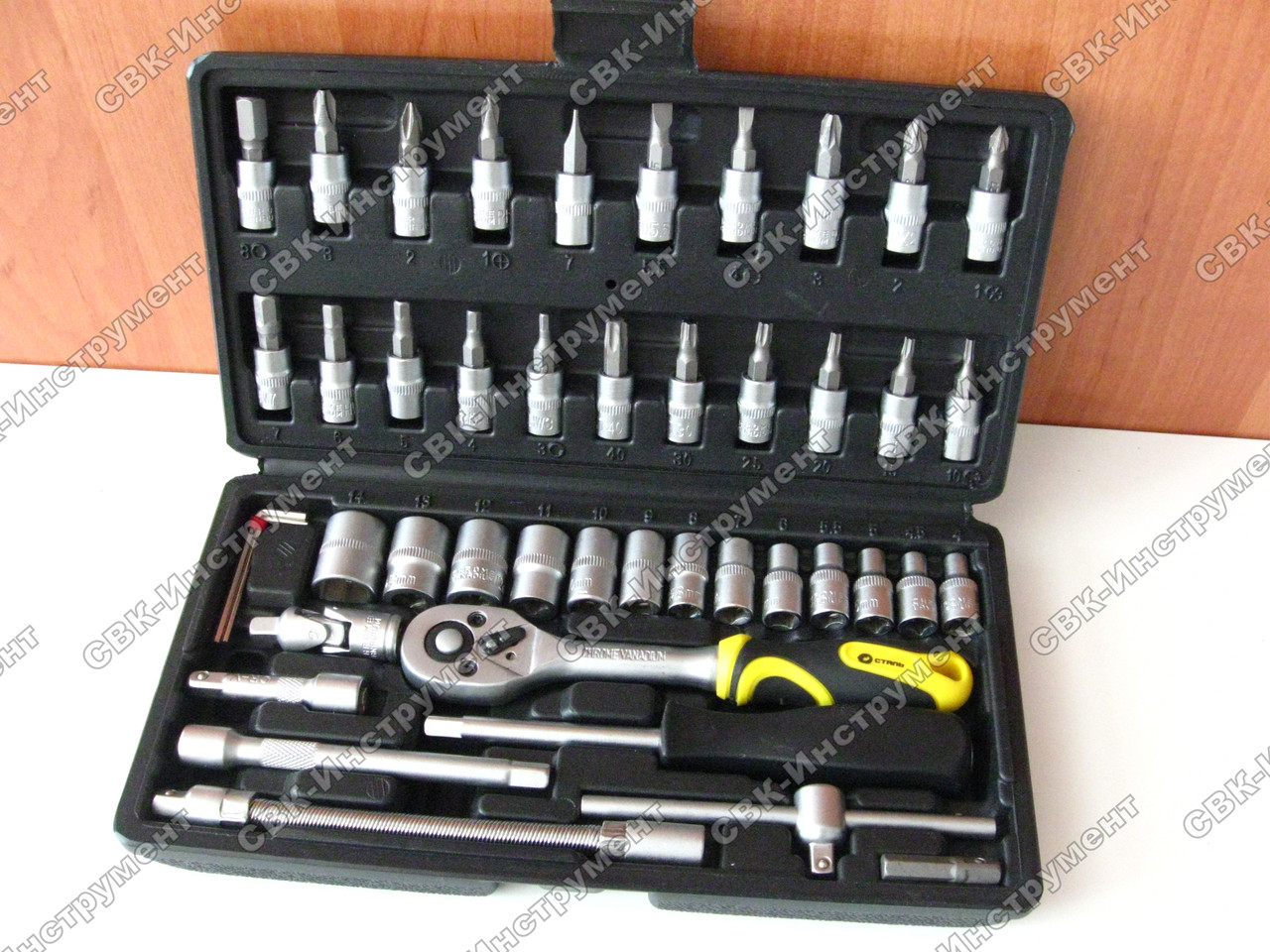 Набор инструментов Сталь АТ-4614 46 единиц