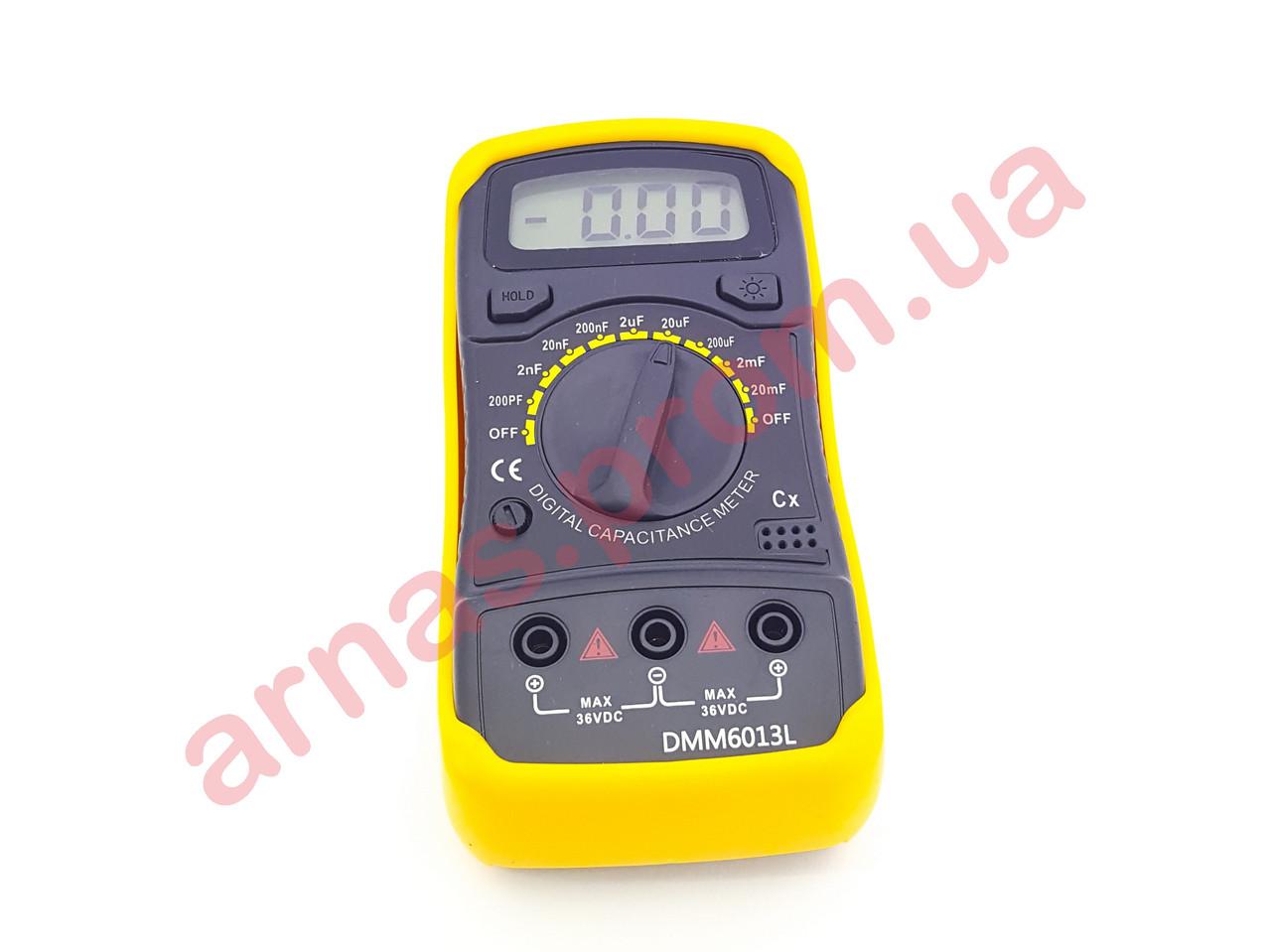 Мультиметр (измеритель ёмкости) DМM6013L цифровой