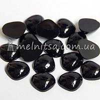 Носики для игрушек, 12х10 мм, черные (10 шт)