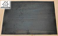 Коврик грязезащитный резиновый 59*39 см К004