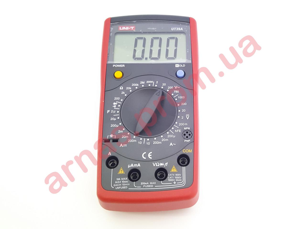 Мультиметр Uni-t UT39A цифровой