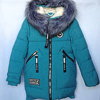Куртка детская зимняя оптом 128-152, фото 1