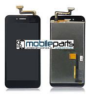 Оригинальный Дисплей + Сенсор (Модуль) для планшета Asus PadFone S (PF500KL) (С рамкой) (Черный)