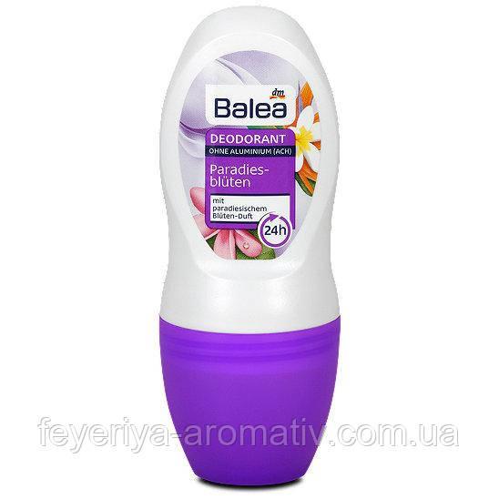 Дезодорант роликовый Balea Paradies-blüten 24hr 50 ml (Германия)