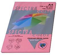 """Бумага офисная цветная """"Spectra Color Cyber HP Pink"""" 100 л. А4, 80 г/м2"""