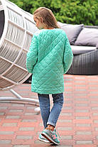 Куртка-пальто на кнопках, очень красивое, с нашивкой., фото 3