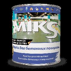 Акриловая эмаль МИКС для бетона (дорожной разметки)  12кг, Белый