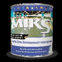 Акриловая эмаль МИКС для бетона (дорожной разметки)  12кг, Серый