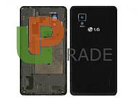 Корпус LG E975 Optimus G, черный, оригинал (Китай)