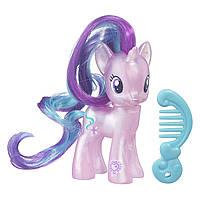Пони фигурка Старлайт Глиммер с блестками Май Литл Пони Starlight Glimmer My Little Pony Hasbro B7801