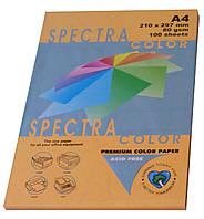 """Бумага офисная цветная """"Spectra Color Cyber HP Orange"""" 100 л. А4, 80 г/м2"""