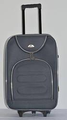 Чемодан дорожный сумка Bonro Lux (средний) темно-серый