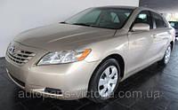 Стекло дверное переднее L Toyota Camry USA 2007 код 6810206080 Б/У Оригинал