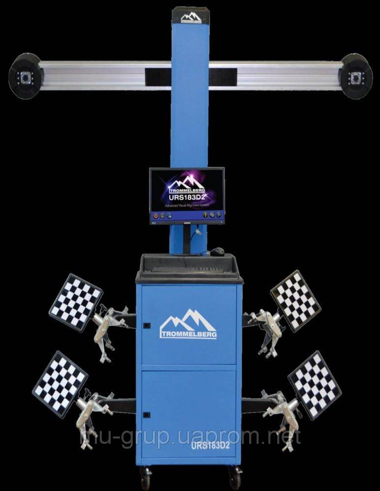 """3D Стенд """"развал-схождения"""" URS 183D2 с подвижной балкой - UA-Tool в Днепре"""