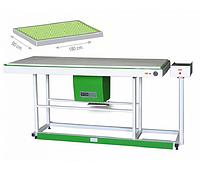 Стол прямоугольный широкого типа с вакуумом WERMAC С600