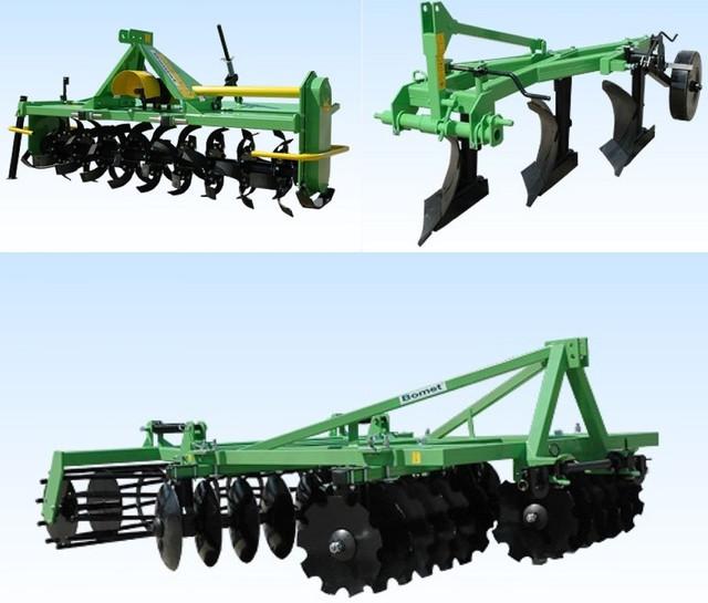 Польское навесное оборудование для тракторов Bomet (Бомет)