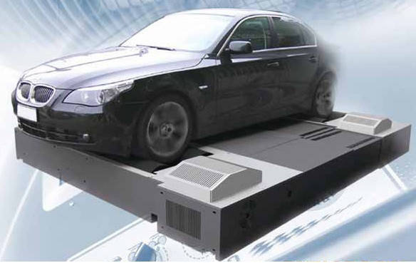 Стенд для измерения мощности автомобиля для четырех колес DF4FSHLS. 4WD BRAKED with linked axles, фото 2