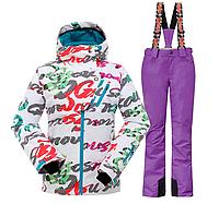 Женский горнолыжный костюм для зимнего спорта