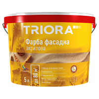 Фарба фасадна акрилова TM TRIORA / 2,5 л