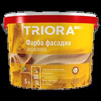 Фарба фасадна акрилова TM TRIORA / 1 л