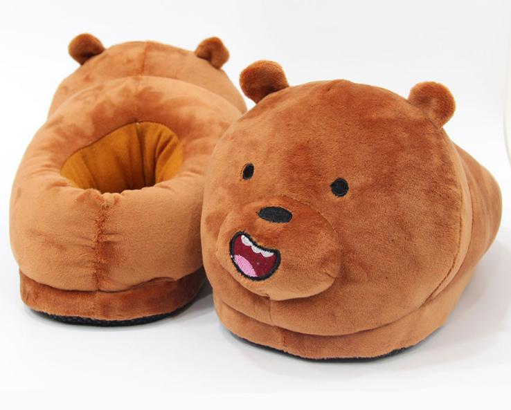 Тапочки-іграшки Ведмеді