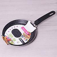 Сковорода блинная Kamille 0619MR D22см с мраморным покрытием индукция