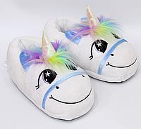 Тапочки-игрушки Единороги