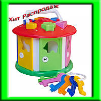 Куб «Розумний малюк» «Будиночок» 2438
