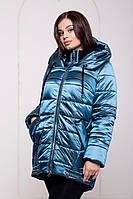 Зимняя женская  курточка на теплейшем силиконе