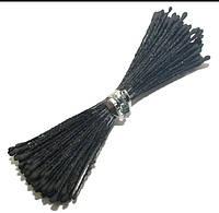 Тычинки черные круглые 100шт.(код 06038)