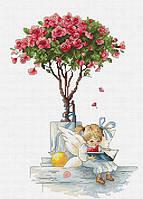 """Набір для вишивання хрестиком """" Троянди """""""