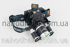 Налобный фонарь Boruit RJ-3000 (T6 +2R2) ORIGINAL, фото 2