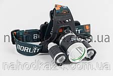 Налобный фонарь Boruit RJ-3000 (T6 +2R2) ORIGINAL, фото 3